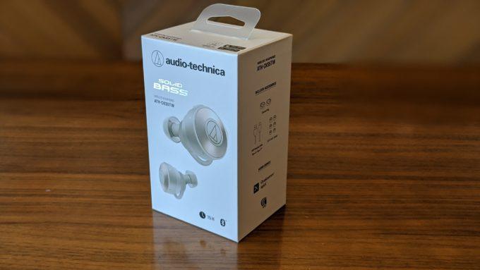audio technica ATH-CKS5TWの箱
