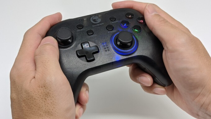 GameSir T4 proを持ち心地