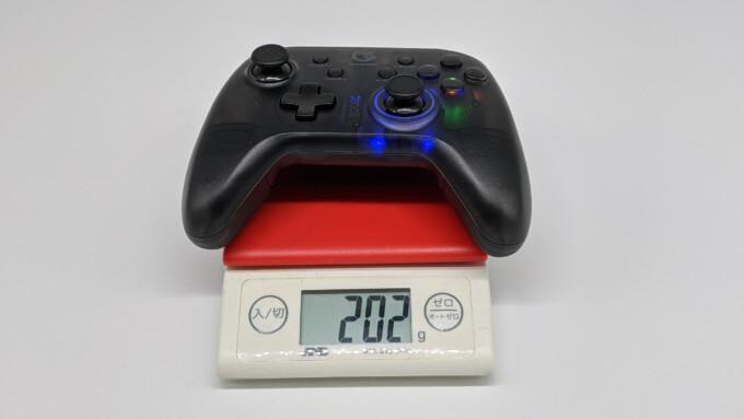 GameSir T4 proの重さ