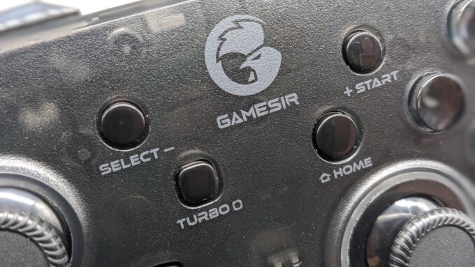 GameSir T4 proのターボボタン