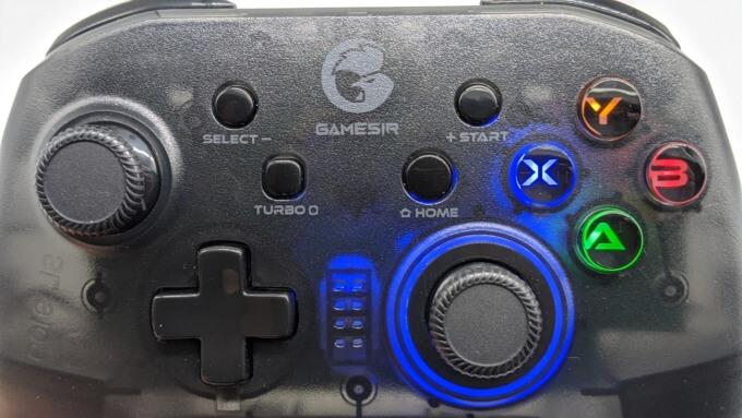 GameSir T4 proのボタン