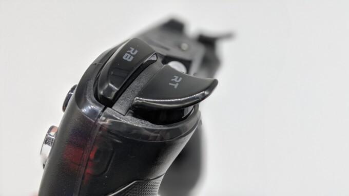 GameSir T4 proのLRボタン