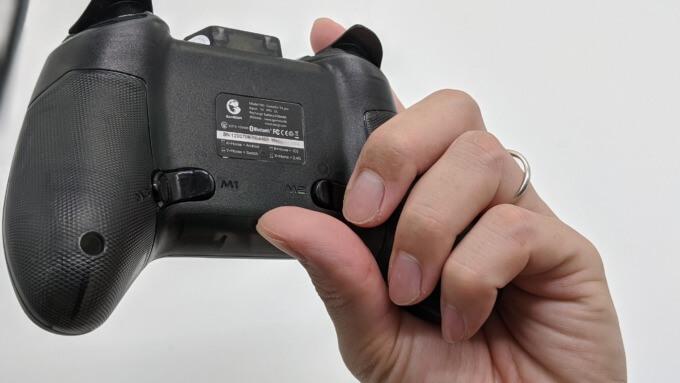 GameSir T4 proのMボタンの押し間違え