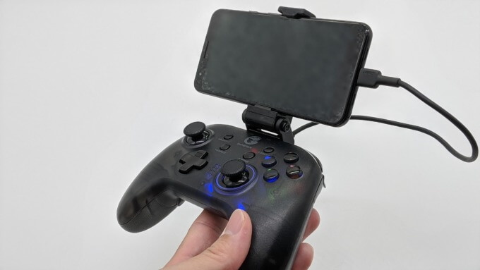 GameSir T4 proを有線接続
