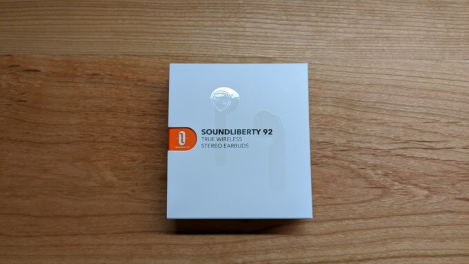 「SoundLiberty 92」の箱