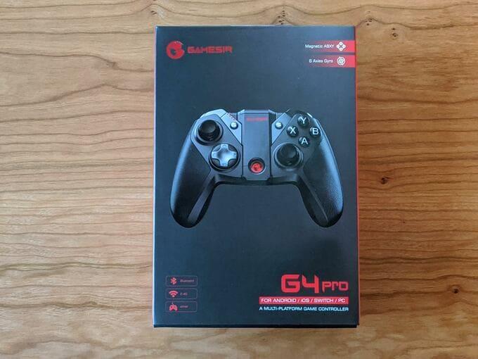 『GameSir G4 Pro』のパッケージ