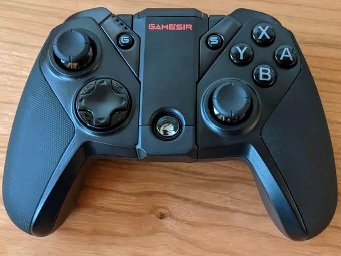 「GameSir G4 Pro」のボタン配置