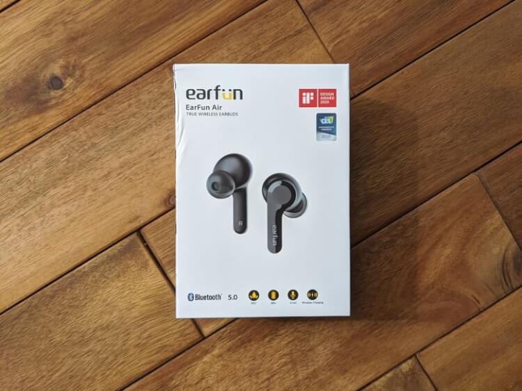 「EarFun Air 」の箱