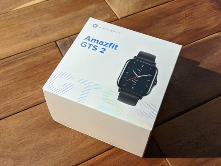 『Amazfit GTS 2 』の箱