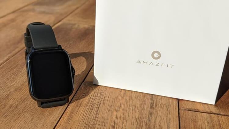 『Amazfit GTS 2 』と箱